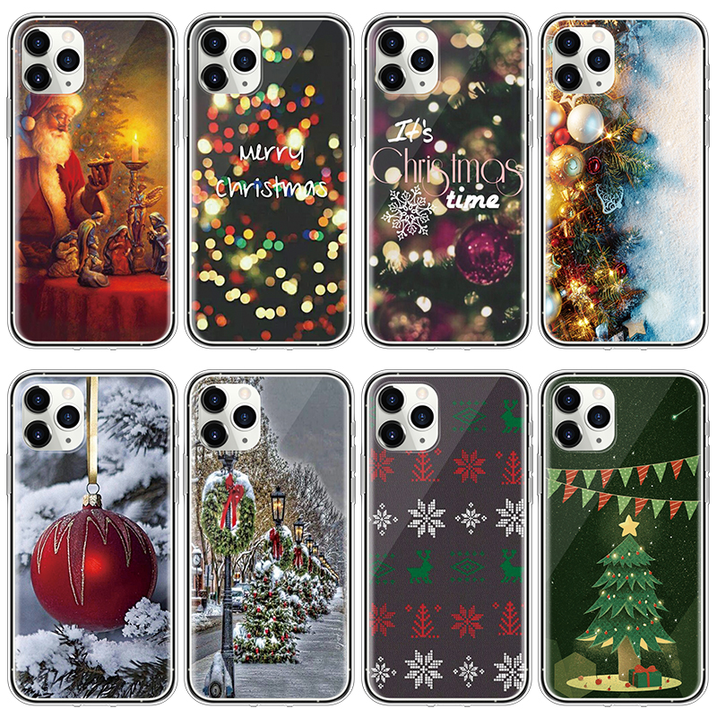 Christmas New Year TPU Case For Iphone 11 Pro Max