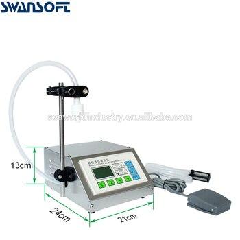 SWANSOFT Liquid Filling Machine Full Stainless Steel Adjustable Foot Quantitative Water Milk Perfume Juice Perfume Filler