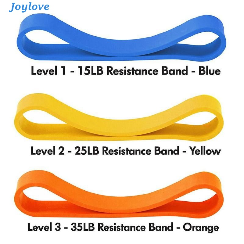 JOYLOVE 3pcs Interchangeable Rsistance Bands Arm Strength Fitness Equipment Outlet Exerciser Muscle Bands