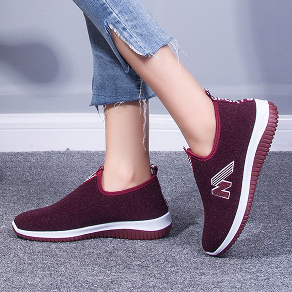Fashion Women Sneakers Winter Warm Mesh Basket Femme Sneakers Women Flat Shoes Casual Loafers Slip On Plush Shoes Espadrilles