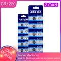 Батарейки кнопочные CR1220 3 в 10 шт., DL1220 BR1220 ECR1220 LM1220 Cell Coin CR 1220 для часов, калькуляторов, удаленная батарея