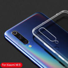 Clear Soft TPU Case For Xiaomi Mi 9 8 SE Pocophone F1 A2 Lite Max 3 A1 Silicone Case For Xiaomi Redmi Note 7 6 Pro yimaoc the godfather fashion glass case for xiaomi redmi 4x 6a note 5 6 7 pro mi 8 9 lite a1 a2 f1