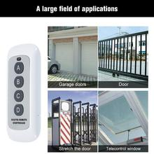 433MHz 4 Buttons EV1527 Code Key Remote Control Switch RF Transmitter for SONOFF 433MHz, Portable, Switch, 4 Buttons 12 volt luggage single open metal two key 433mhz remote control switch accessaries for electronic control lock