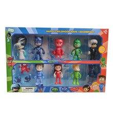 PJ Mask – jouets de personnages de dessins animés, masque Catboy OwlGilrs Gekko Juguete, poupées, jouets d'extérieur pour enfants, cadeaux