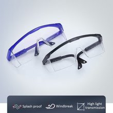 Safety-Glasses Goggles Protective Work Eye-Anti-Fog Saliva Windproof Anti-Dust Transparent