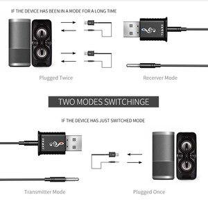Image 4 - Bluetooth 5.0 אודיו מקלט משדר 2 ב 1 AUX RCA USB 3.5mm מיני סטריאו Bluetooth שקע עבור טלוויזיה מחשב לרכב אלחוטי מתאם