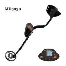 Professional Metal Detector Underground Gold Silver Stud Finder Treasure Hunter Detecting Pinpointer MD5030 With LCD Display md4030 upgrade version professional metal detector underground metal gold scanner search finder gold detector pinpointer