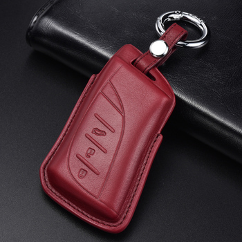 Quality Italy Genuine Leather Car Key Cover Case Suitable For LEXUS ES Z10 UX AA1 AH1 LS F5 Car styling Accessories