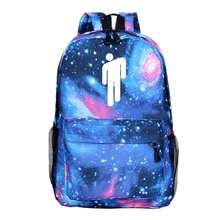New Billie Eilish Backpack Creative Pattern Outdoor Travel Bag Student Casual