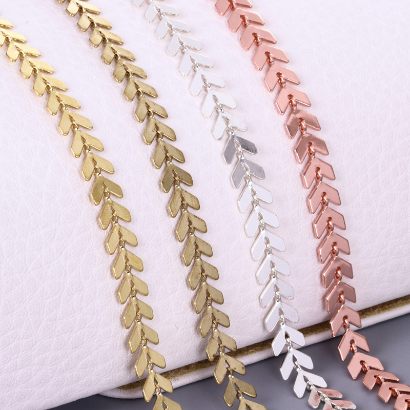 1Meter 6.2mm Necklace Chain Aircraft Copper Chains Anklet Bracelet Chain For DIY Accessories For Wholesale Craft Jewelry Making