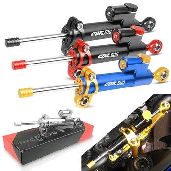 цена на For HONDA CBR600 F2,F3,F4,F4i SPORT/F CBR 600 CBR600F CBR600RR 1991-2016 1992 Motorcycle Steering Stabilize Damper Bracket Mount