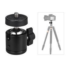 حامل ثلاثي القوائم صغير لحامل الكاميرا ، 1/4 بوصة ، فلاش ، حامل حذاء ساخن ، حامل كاميرا أسود ، حامل كرة للكاميرا J2G6