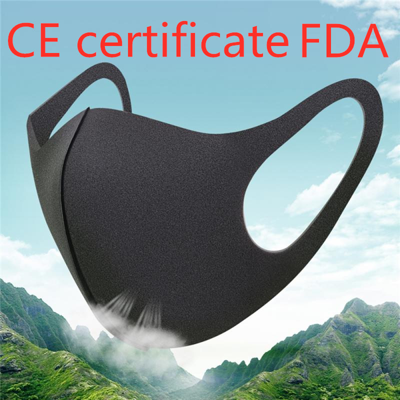 Dust Mouth Face Mask Washable Anti-haze Respirator Reusable KN95 FFP3 KF94 N95 Cycling Unisex Perfect Fit Non Disposable Mask