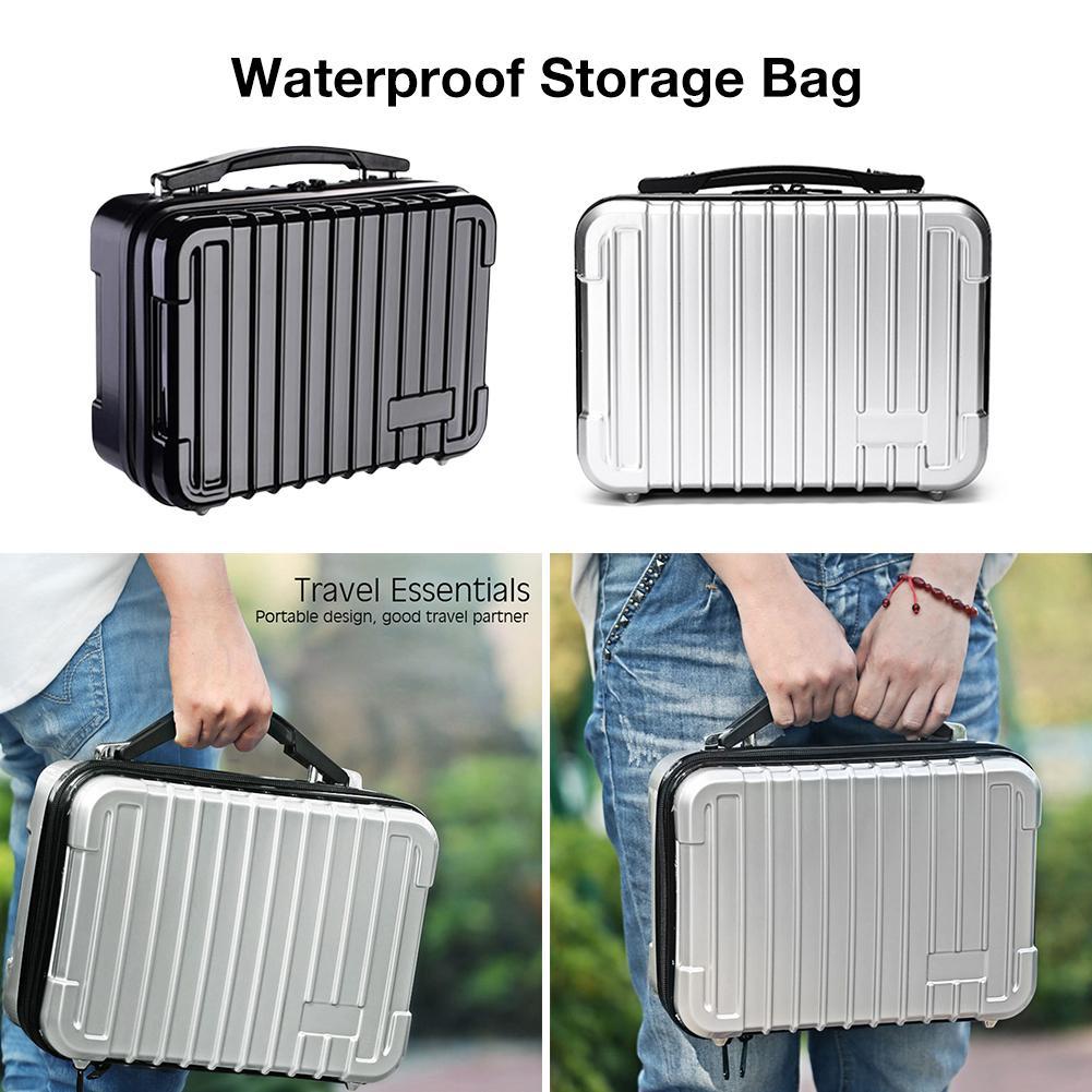 Protective Carrying Case Waterproof Hard Storage Case Storge Case Bag 5 Slots Massager Accessories For Hypervolt Plus