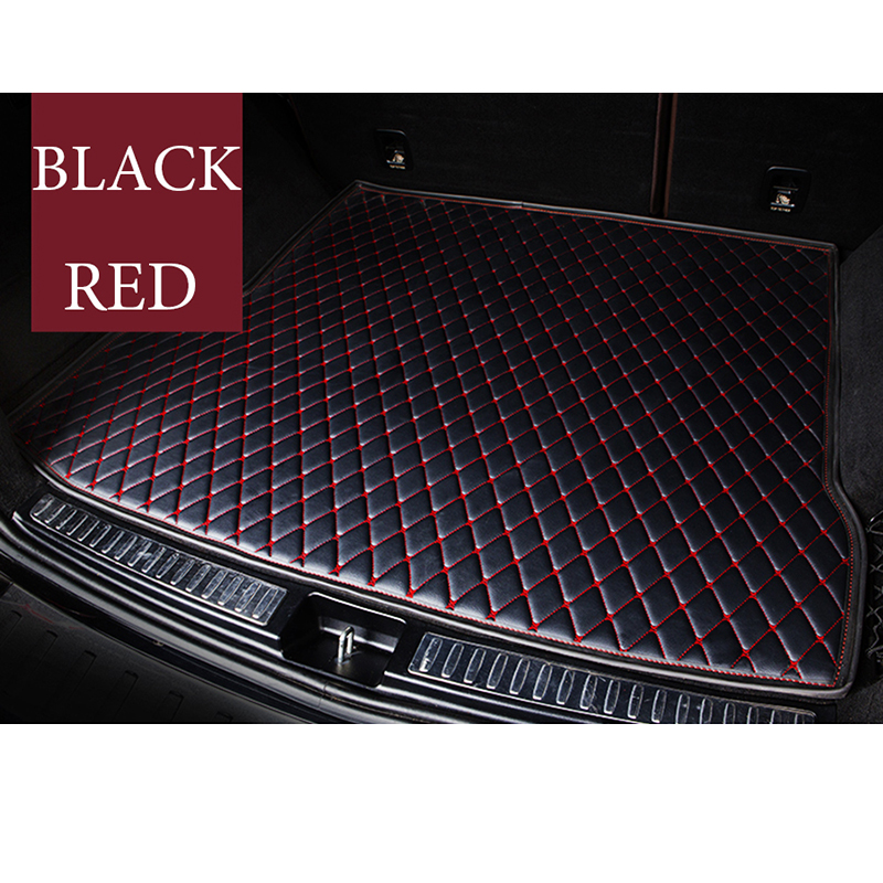 Custom Car Trunk Mat For Volkswagen Touareg Jetta Touran Tiguan Vw Polo Sedan Passat B6 B8 Golf All Model Car Mats