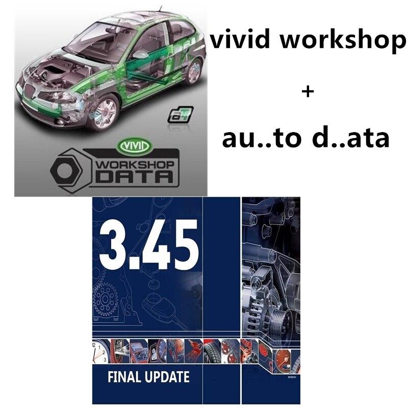 2020 software automotivo software de reparação de automóveis vívido oficina dados .. dados 3.45 manual elétrico vívido cd/download link/u disco