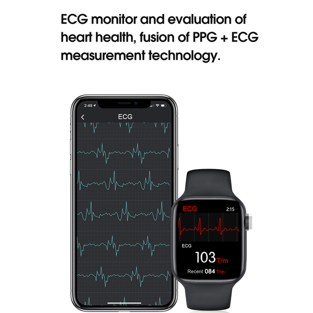 Original IWO W26 smartwatch Dropshipping link smart watch 2020 for men women 1.78 inch screen ECG  better than iwo 12 pro max 3