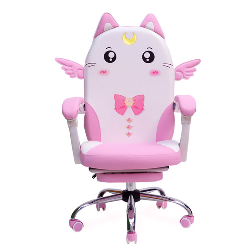 Pink Cute Anchor Computer Chair Home Student Dormitory Chair Modern Minimalist Girl Live Game Chair