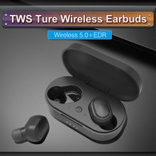M1 Bluetooth Earphones 5.0 Fingerprint Touch Control HD Stereo Wireless Headphones Noise Cancelling Gaming Headset