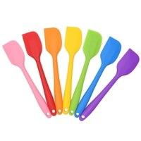 Premium szpatułki silikonowe  odporne na ciepło nieprzywierające gumowe skrobaki naczynia kuchenne do pieczenia narzędzia naczynia narzędzia gadżet do gotowania w Zestawy przyborów do gotowania od Dom i ogród na
