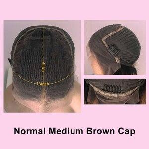 Image 5 - מים גל 13X6 תחרה מול שיער טבעי פאות לנשים שחורות מזויף קרקפת עמוק 360 תחרה פרונטאלית פאה רמי סגירת HD שקוף תחרה