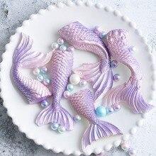Creative Cake Silicone Mold Beautiful Fish Fishtail Shape Cute Household  Fondant DIY Kitchen Baking Tool