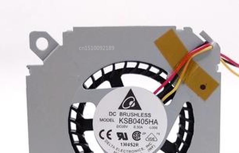 For Delta KSB0405HA-L006 DC 5V 0.30A 3-wire Fan Free Shipping