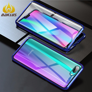 Luxury Tempered glass For Huawei Honor 8X two sided case for Honor 9X 9i V9 10 Play3 20i 20Pro Mate 20X 30 P 20 30 Pro Lite case