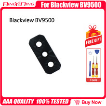 Bingyening novo original para blackview bv9500/bv9500 pro protetor de lente câmera traseira clara película protetora