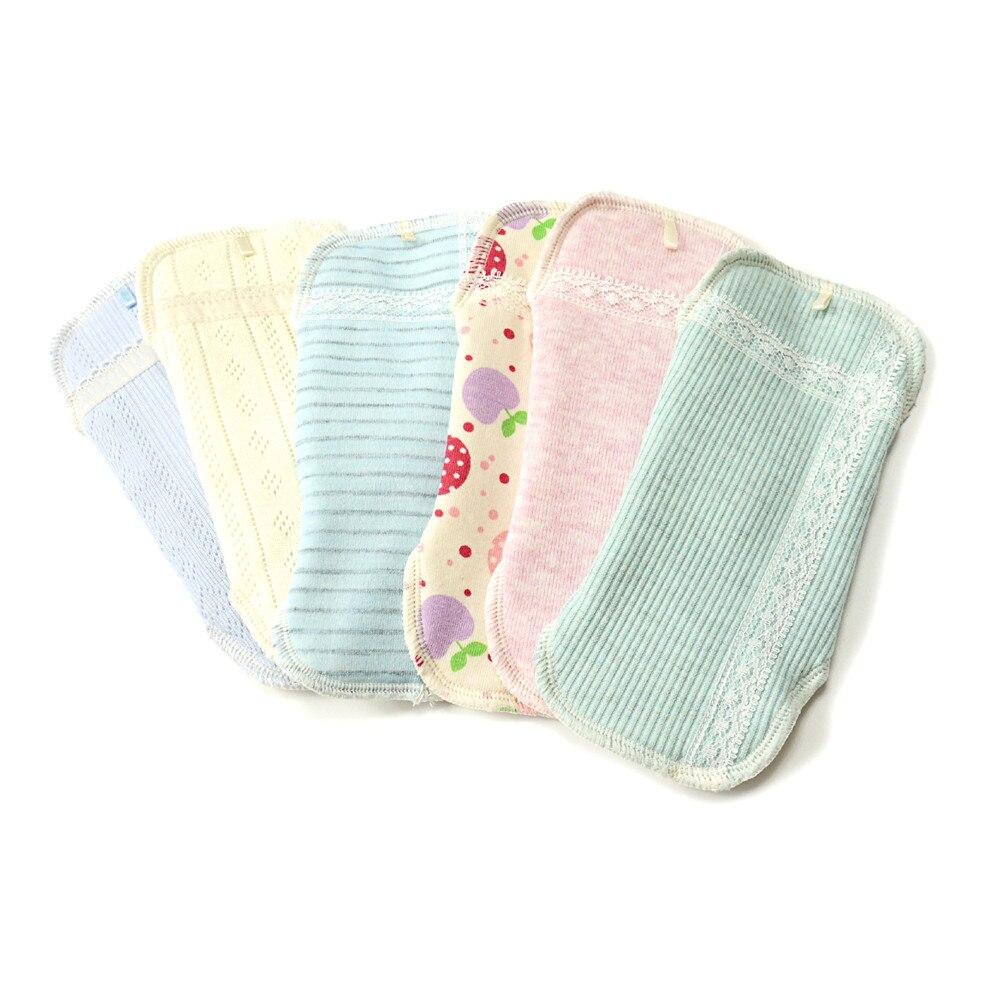 1pc Washable Menstrual Pads Reusable Sanitary Pad Soft Cotton Cloth Adult Feminine Hygiene Panty Liner Towel