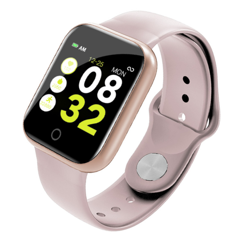 <font><b>Y2</b></font> Smart Watch Heart Rate Blood Pressure Monitor Fitness Tracker Women Men Bracelet Sports Bracket <font><b>Smartwatch</b></font> For Android IOS image