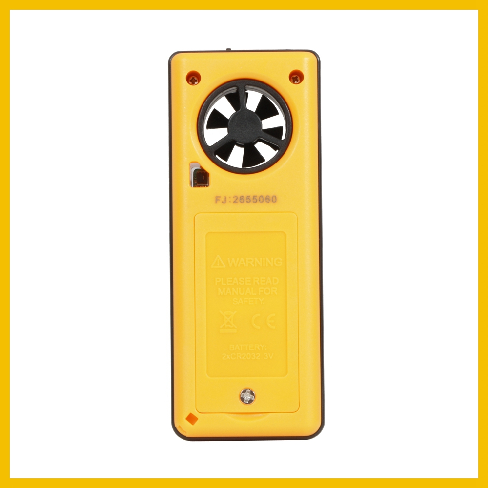 Portable RZ GM816 Wind Speed Meter Used as Anemometer with LCD Display Useful for Windsurfing 40