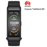 Huawei-pulsera inteligente TalkBand B6, con Bluetooth, pantalla táctil AMOLED, para llamadas y auriculares, 99%