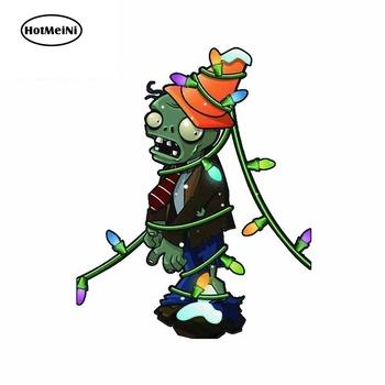 HotMeiNi 13cm x 10.6cm CONEHEAD ZOMBIE Car Sticker Window Skateboard Vinyl Motorcycle Decal Waterproof Car Accessories image