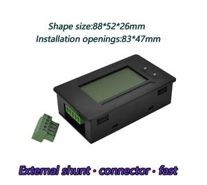 Image 2 - dykb DC METER 200A Li ion Lifepo4 Lithium Battery Monitor Capacity Indicator Voltage Current 12V 24V 36V 48V 60V 72V 4S 7S 10S