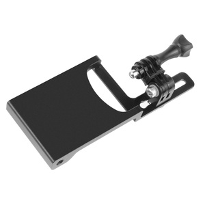 Image 4 - Bgning Aluminium Handheld Gimbal Adapter Schakelaar Mount Plaat Voor Dji Moza Stabilisatoren Voor Gopro Max 8 7 6 5 actie Camera