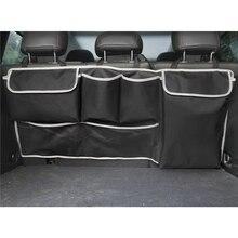 Car Trunk Organizer Back Seat Storage Box Bag 100cm Oxford Car Multi-Function