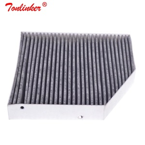 Image 1 - Cabine Filter A2058350147 1Pcs Voor Mercedes Benz C CLASS W205 A205 C205 S205 2013 2019 Model Auto Carbon Air airconditioning Filter