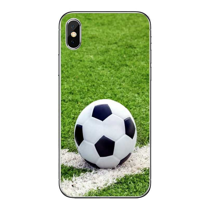 Sport Voetbal Bal Soft Cover Case Voor Nokia 3 5 6 7 Plus 8 Htc Een X9 A9 M10 m8 M9 M7 E9 U11 U12 Desire 830 820 816