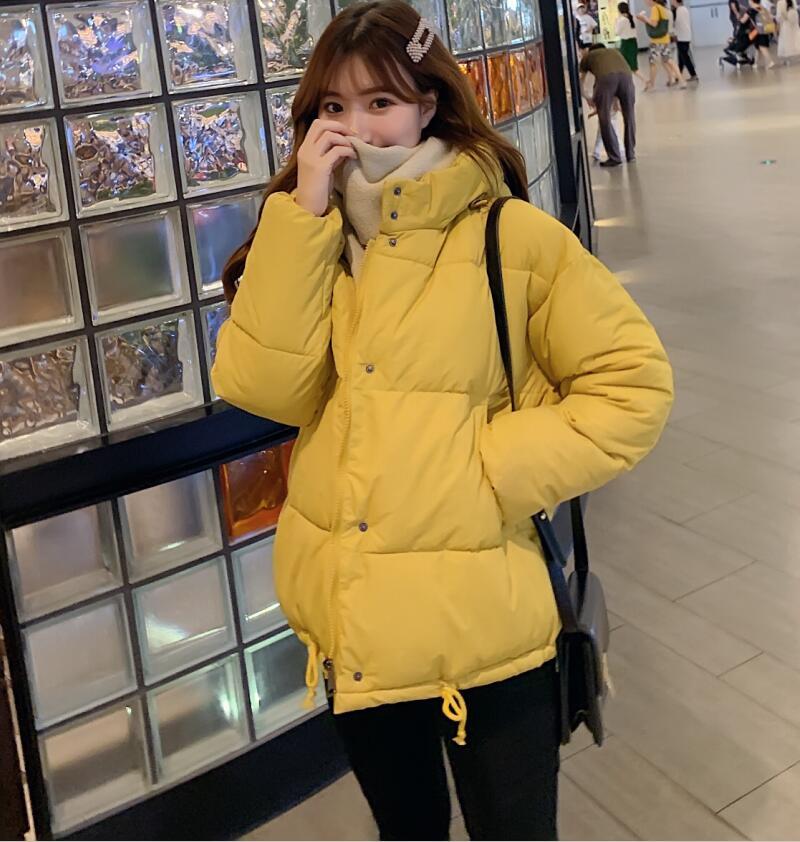 New fashion winter Female jacket slim thick warm women cotton-padded coat hooded
