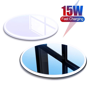 SOLOVE15W QiWireless Charger For iPhone 12 11 Pro Xs Max Mini X Xr 8 Induction Fast Wireless Charging Pad For Samsung Xiaomi