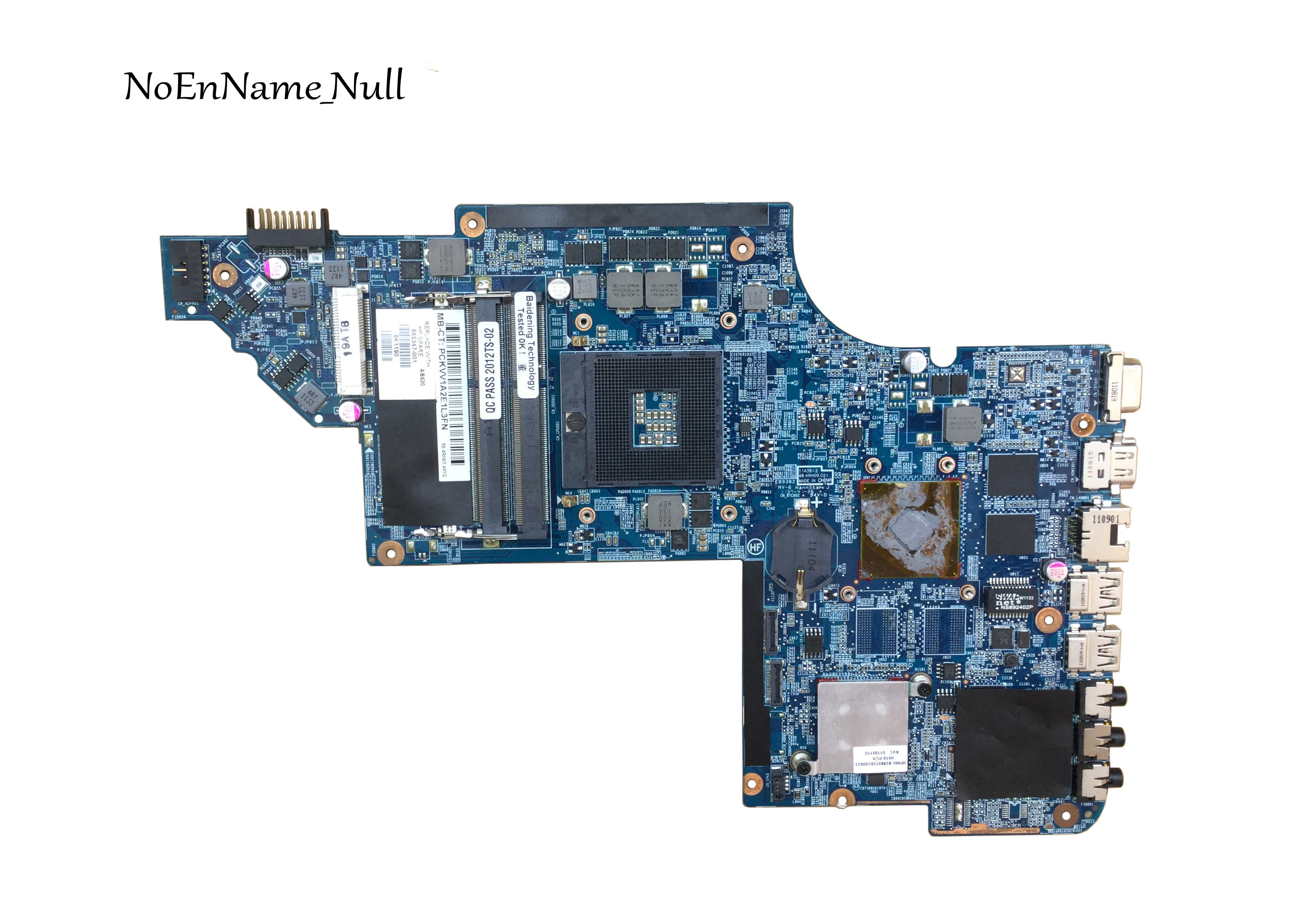 Free Shipping 665347-001 Motherboard For HP Pavilion DV6 DV6-6000 HM65 Working Well
