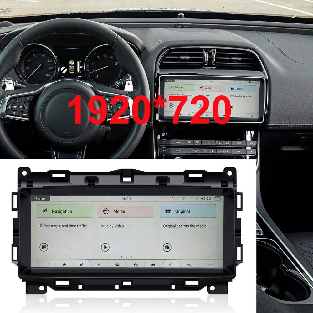 10.25 Inch Android 9.0 Upgraded Original Car Screen Multimedia Player For Jaguar XE 2016-2018 (Original With No DVD)
