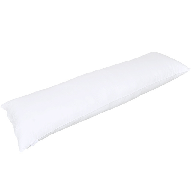 150*50cm Pure White Pillowcase 100% Polyester Pillow Cover With Zipper Body Pillowcase Dakimakura For Bed Sleeping