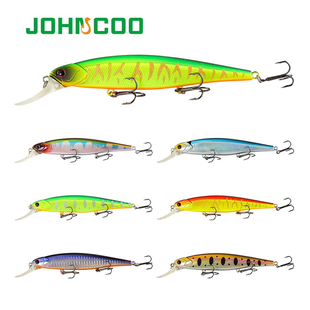Wobbler Fishing Lure 125mm 16.5g JERKBAIT Floating Lure Minnow  Pike Artificial Bait Tackle