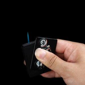 Metal Gas Lighter Cigar Cigare