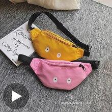 Banana cadera pecho estómago cinturón de cintura para niños, bolsa para chica chico mujeres Fanny Pack mujer bolsa monedero chico ney Murse Canguro cadera