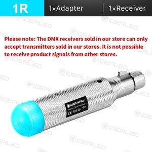 Image 2 - Dmx אור אפקט סוללה אלחוטי 2.4 2.4GISM 500m Dmx512 מקלט משדר מרחק תקשורת מקלט מוסיקה DJ מועדון דיסקו
