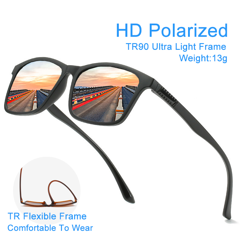 Ultra Light Women/Men Polarized Sunglasses Anti Glare Glasses Driving Unisex Sunglasses UV Protection Goggles/Eyewear/Shades