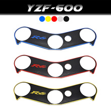 For YAMAHA YZF R6 YZFR6 YZF-R6 Top Clamp Upper Front End Decal Motorcycle Sticker Pad Triple Tree Protection Printing Film